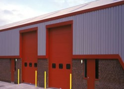 INSULATED SECTIONAL OVERHEAD DOORS