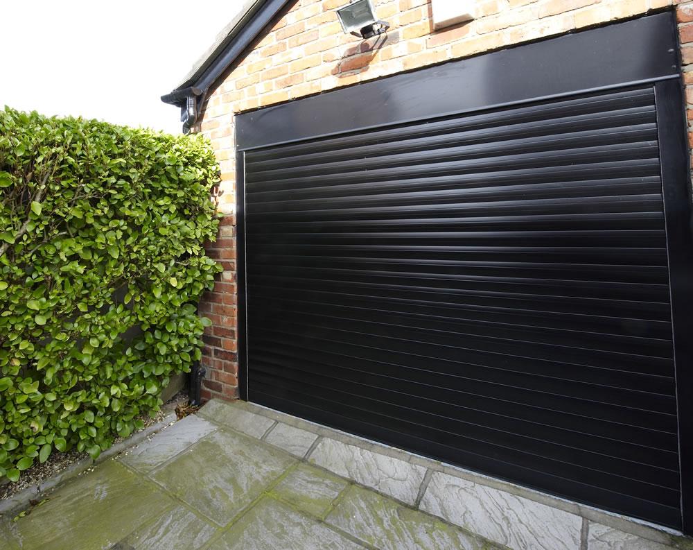 Roller shutter garage doors industrial door manufacture - Persianas de aluminio ...